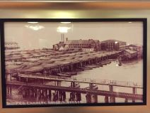 Early days of the cannery