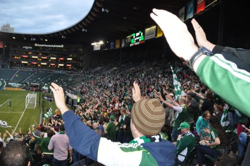 When I root, I root for the Timbers!