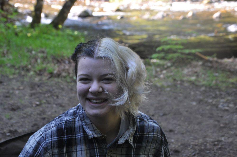 Tara's still having fun with hair colour. This year it has been the Cruella de Vil look.
