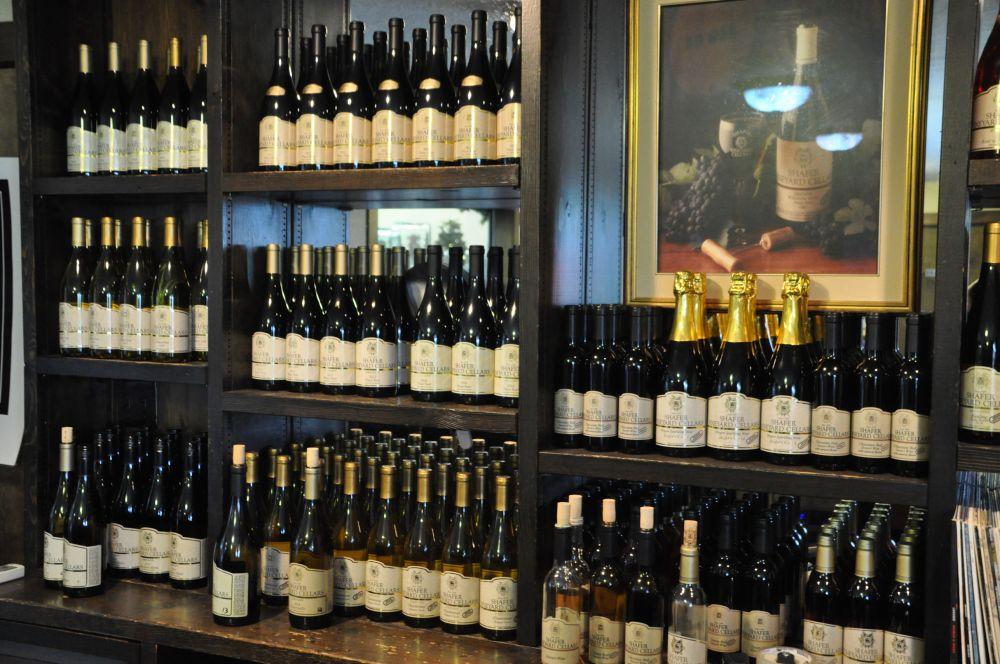 German-style wines at Shafer Vineyard Cellars.