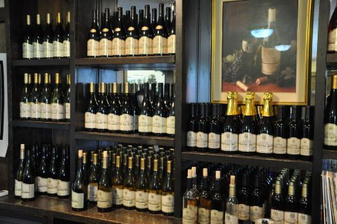 German-style wines at Shafer Vineyard Cellars.