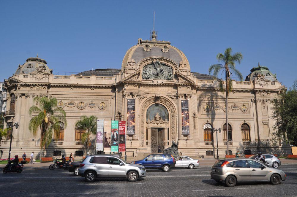 The Magnificent Museo del Bellas Artes.