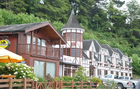 German-style hotel in Frutillar.