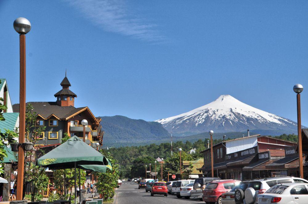 Mt. Villarrica from Pucón