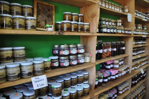 This place sold preserves and cheese. We are surprized to find that Chile sells a lot of good cheese.