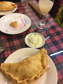 Our fabulous empanadas made with Chilean love.