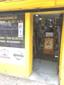 A Toyota auto parts store made me think of my brother, who visited me in Japan, mostly to see the cars.
