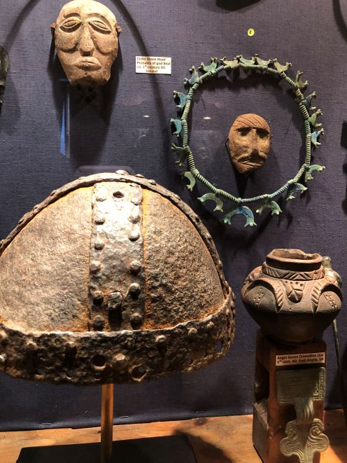 The variety of artifacts was impressive.