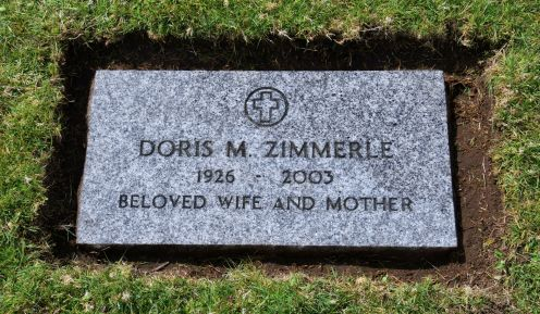 Doris M. Zimmerle was the last of the three to die, in 2003, at 76 years old.